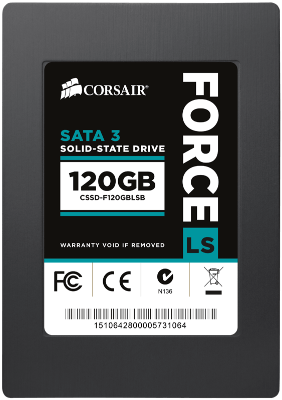 Hard Disk SSD Corsair Force LS 120GB 2.5