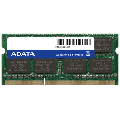 Memorie Notebook A-Data 4GB DDR3L 1600MHz Retail
