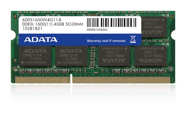 Memorie Notebook A-Data 8GB DDR3L 1600MHz Retail