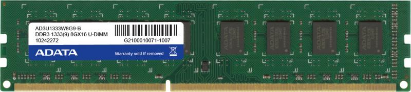 Memorie Desktop A-Data Premier 8GB DDR3 1333MHz Retail