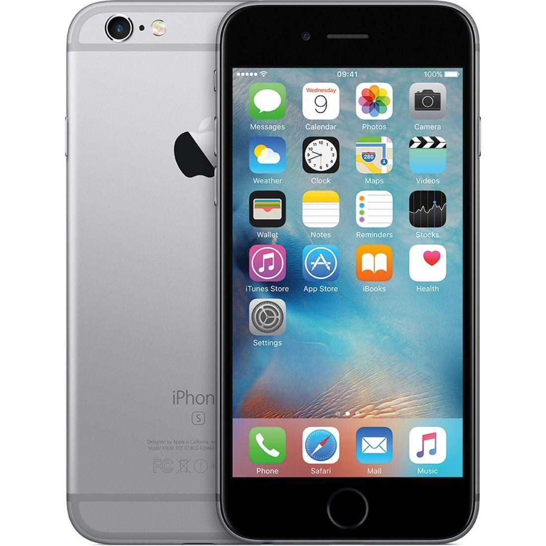 Telefon Mobil Apple Iphone 6S Plus 128GB Single SIM 4G Space Gray