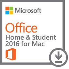 Microsoft Office Home and Student for Mac 2016 Licenta Electronica
