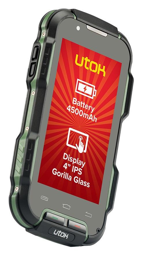 Telefon Mobil UTOK Explorer 4 Dual SIM Black