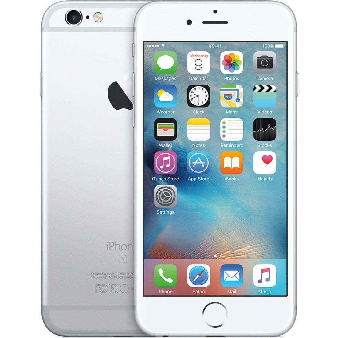 Telefon Mobil Apple Iphone 6S Plus 128GB Single SIM 4G Silver