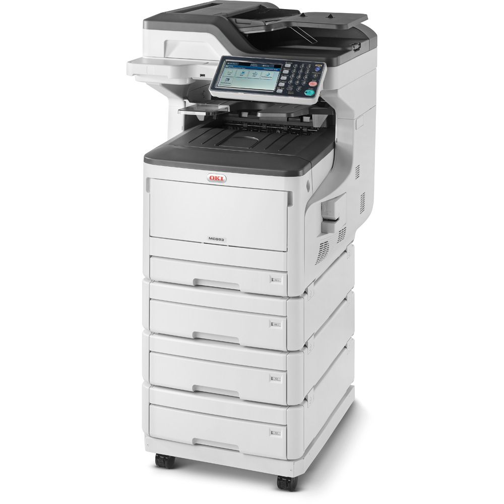 Imprimanta Laser Color OKI MC853dnv