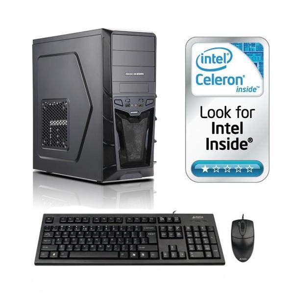 Sistem Adisys Entry Intel Celeron G1820 2GB RAM 500GB HDD DVD-RW Carcasa MidTower 500W