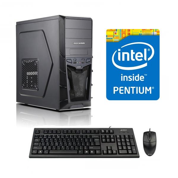 Sistem Adisys Entry Intel Pentium G3250 4GB RAM 500GB HDD DVD-RW Carcasa MidTower 500W
