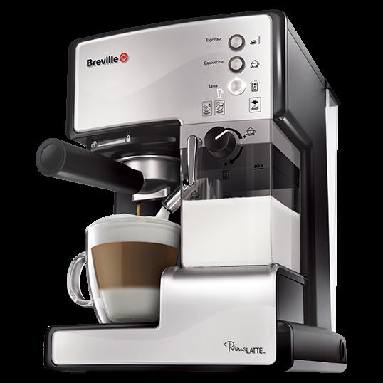 Espressor cafea Breville Prima Latte Silver