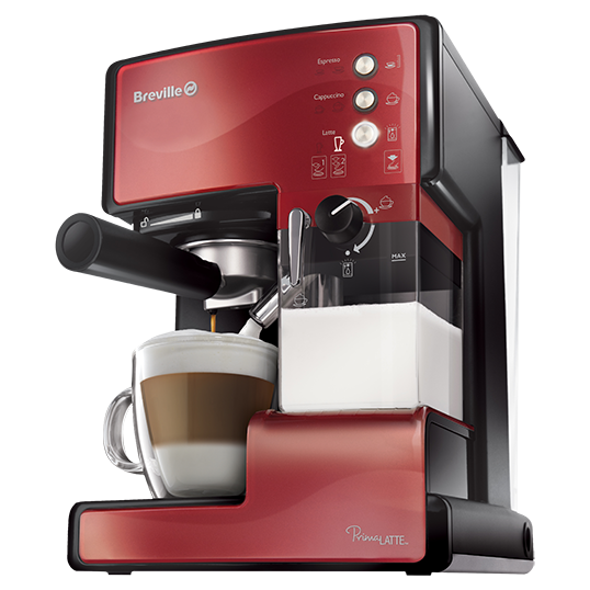 Espressor cafea Breville Prima Latte Red