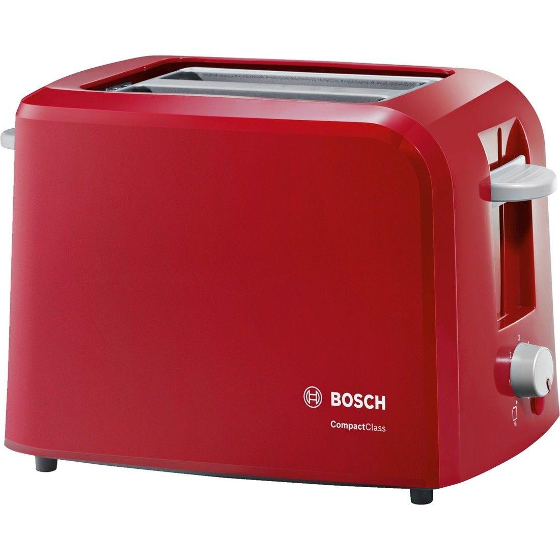 Prajitor de paine Bosch TAT3A014 980W Rosu
