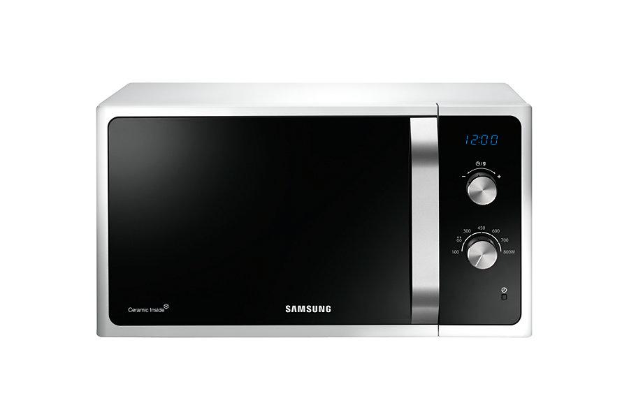 Cuptor cu microunde Samsung MS23F301EAW/OL 800W Mecanic Argintiu