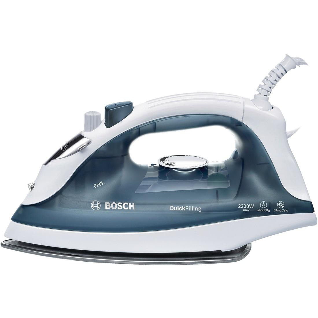 Fier de calcat Bosch TDA2365 2200W Capacitate 220ml Alb/Gri