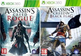 Assassins Creed IV Black Flag & Assassins Creed Rogue Xbox360