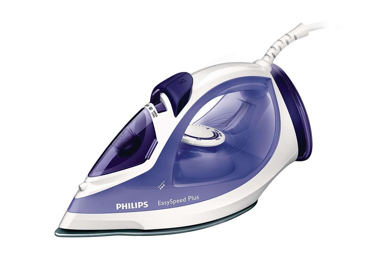 Fier de calcat Philips EasySpeed Plus GC2048/30 2300W Capacitate 270ml Alb/Albastru