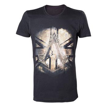 Tricou Assassins Creed Syndicate British Flag Black