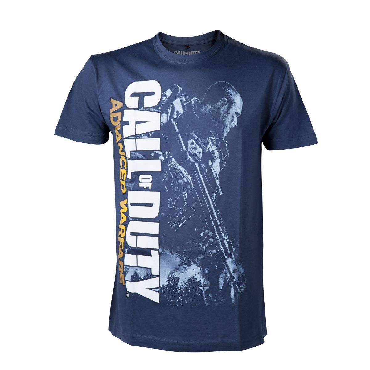 Tricou Call Of Duty Advanced Warfare Soldier Blue M