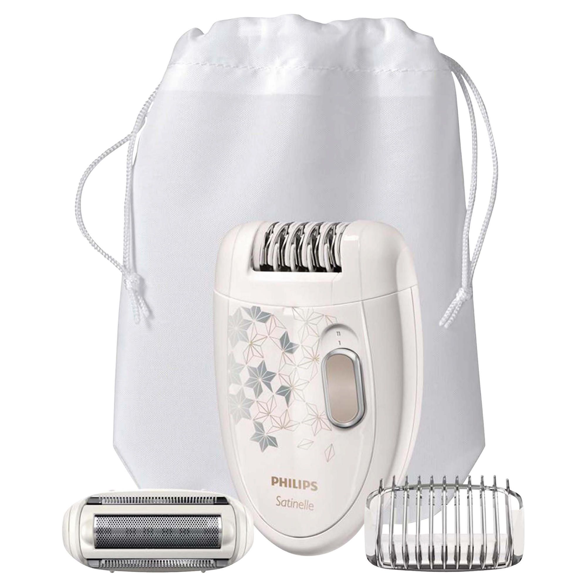 Epilator Philips Satinelle HP6423/00 2 viteze Alb