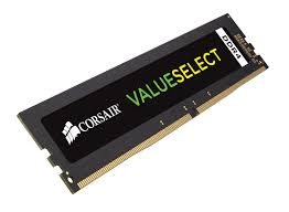 Memorie Desktop Corsair ValueSelect 8GB DDR4 2133MHz CL15 1.2V
