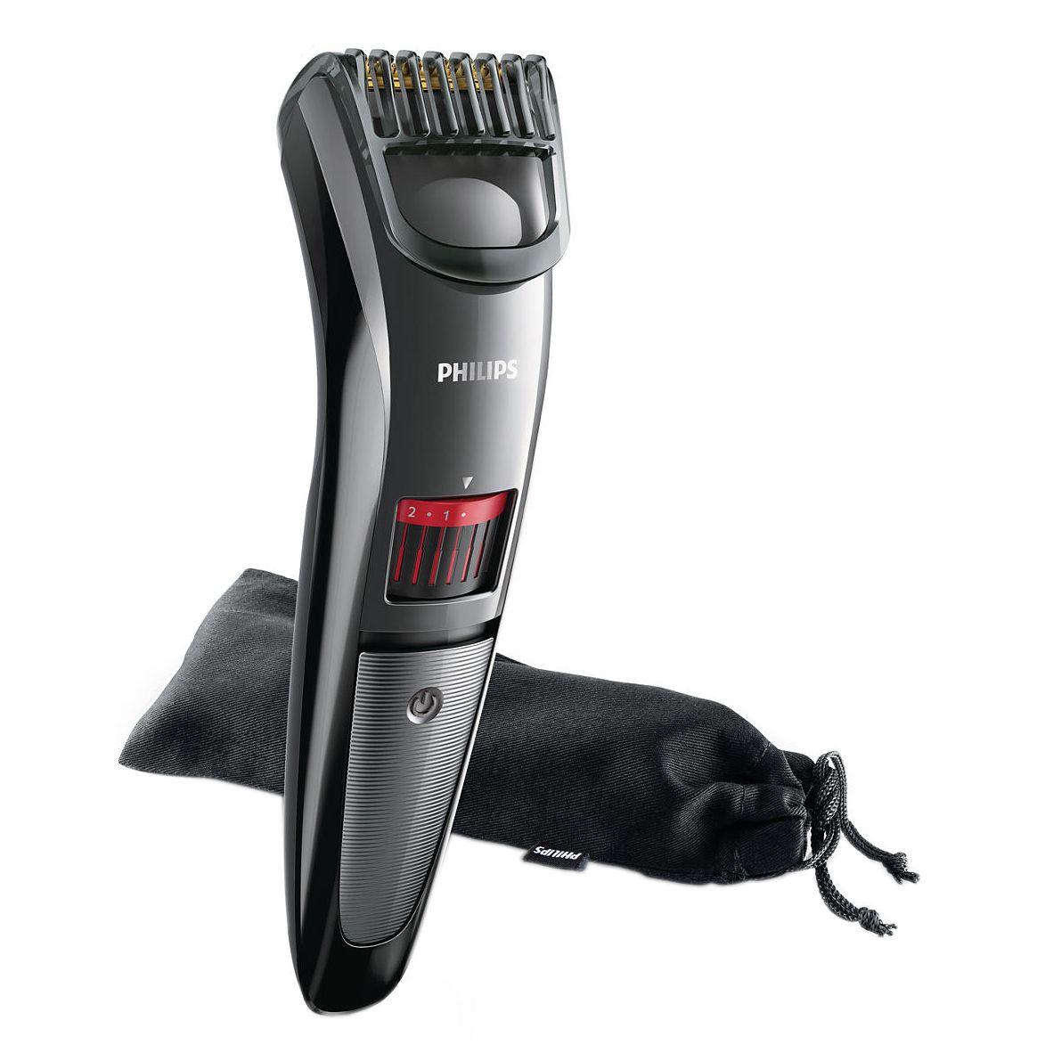 Aparat de tuns barba Philips Beardtrimmer series 3000 20 trepte Negru