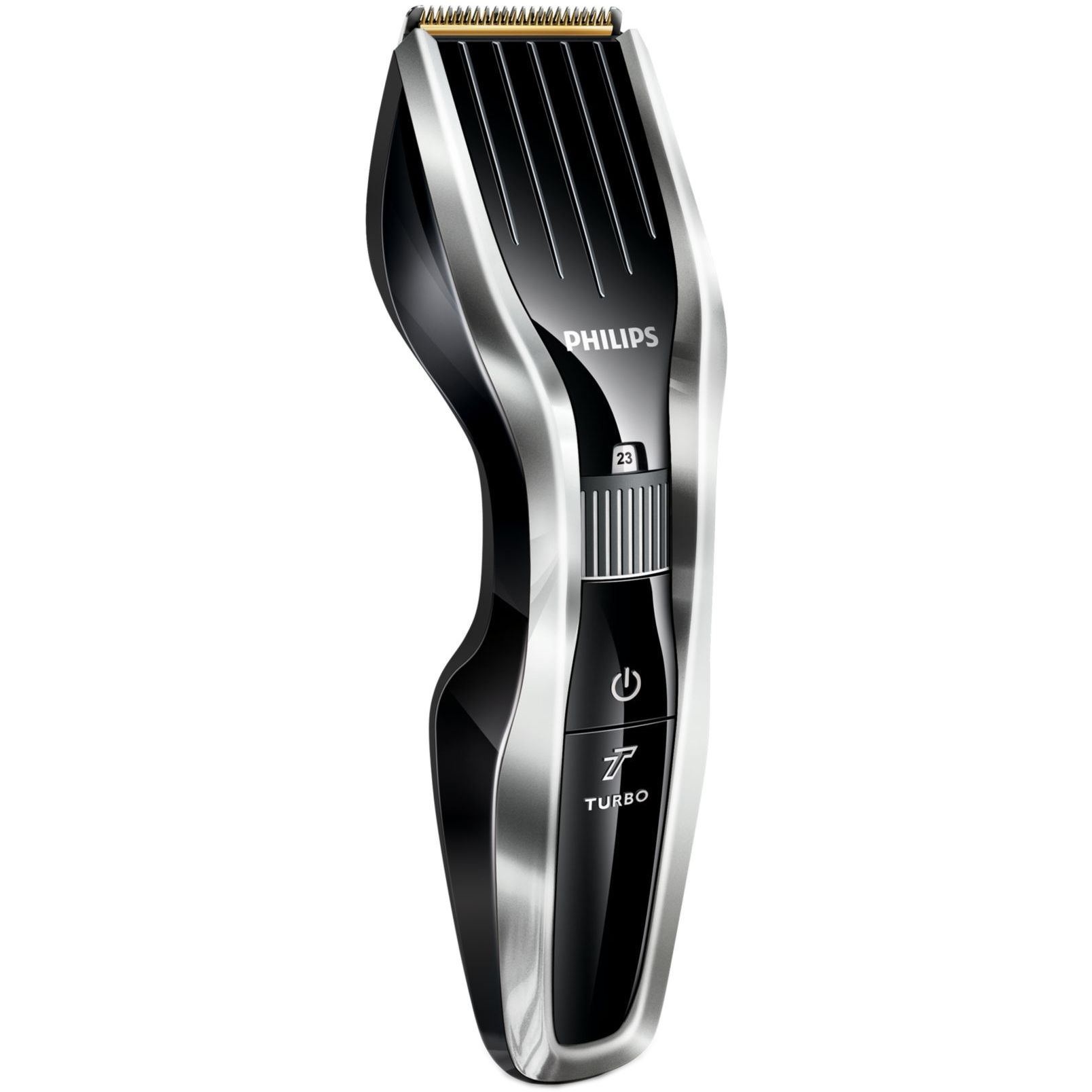 Aparat de tuns Philips Hairclipper series 5000 24 trepte Negru-argintiu
