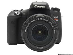 Aparat Foto Digital Canon 750D Black