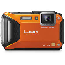 Aparat Foto Digital Panasonic Lumix DMC-FT30EP-D Orange