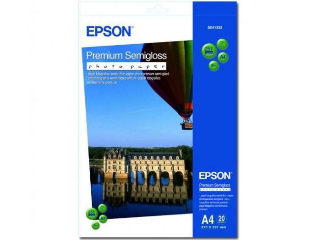 Hartie fotografica semi-gloss Epson A4 20 foi