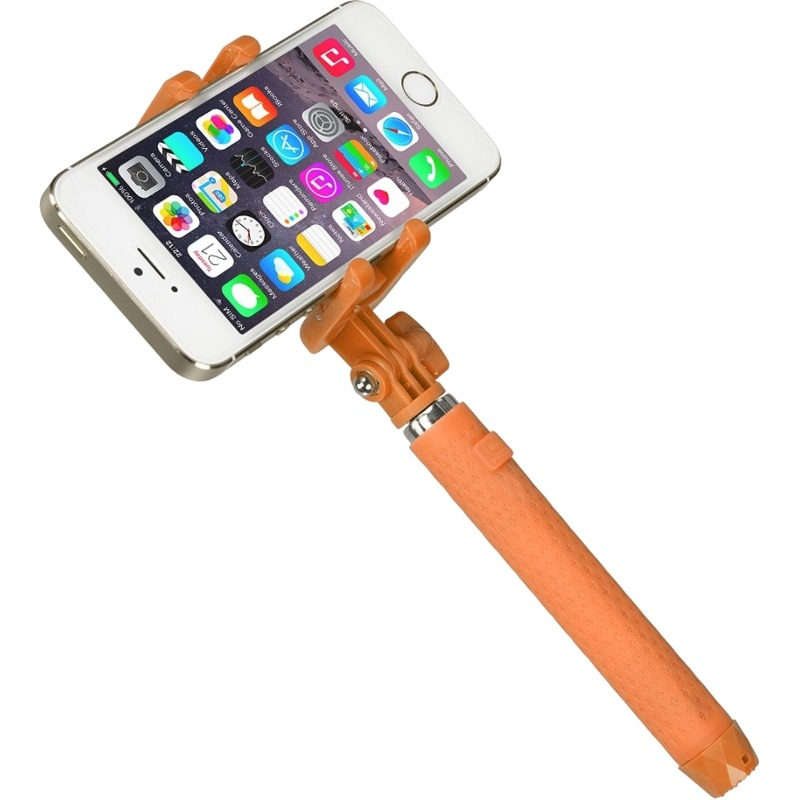 Selfie Stick KitVision KVPKBTSSOR Pocket conectare Bluetooth Orange
