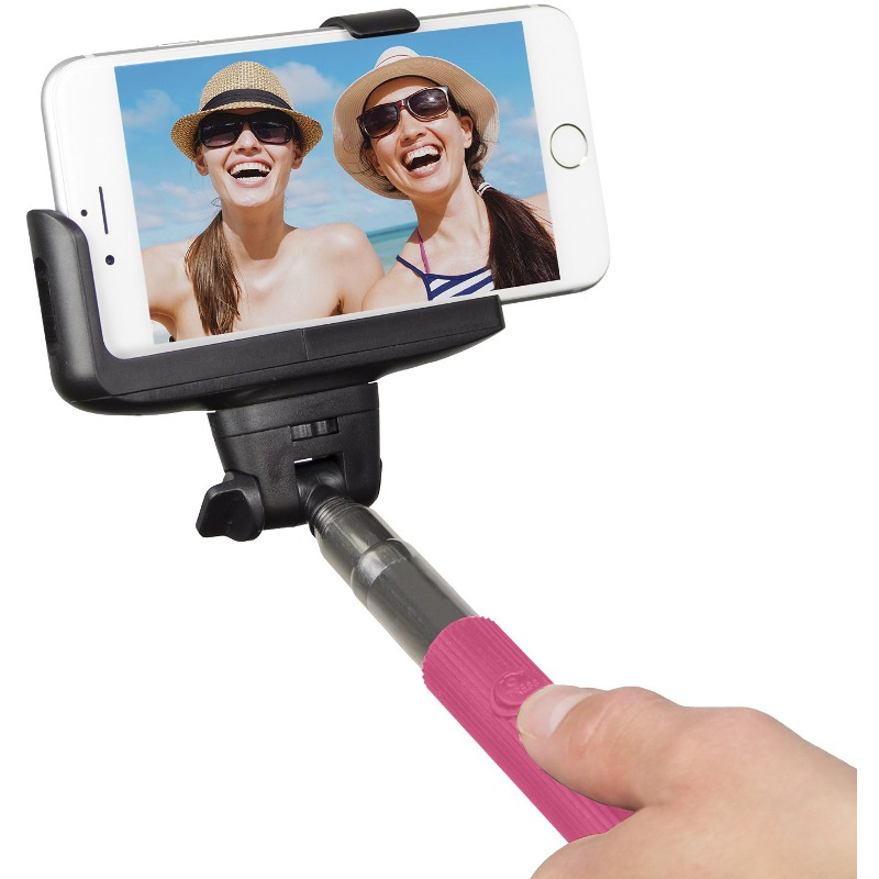 Selfie Stick KitVision BTSSPHPI conectare Bluetooth Roz