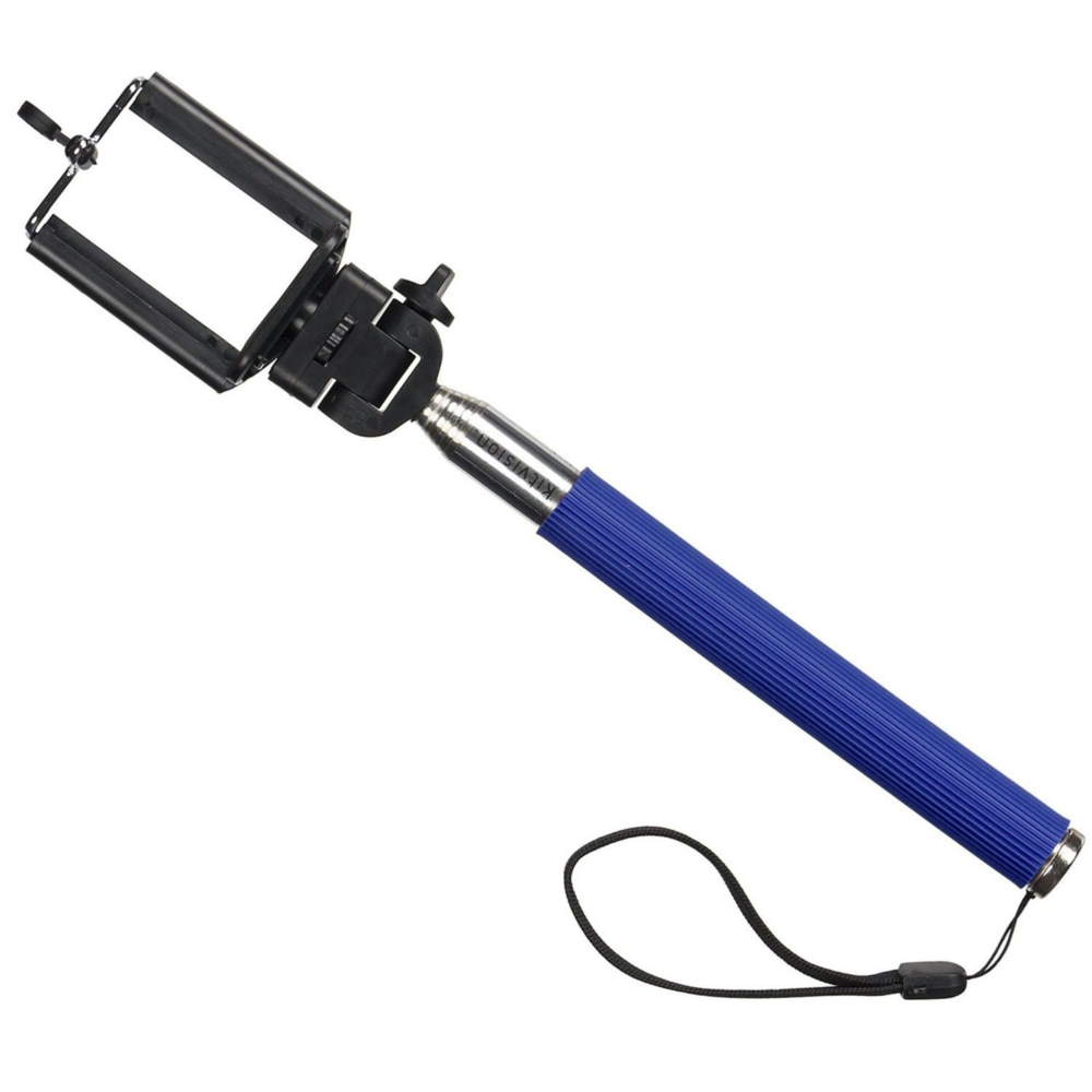 Selfie Stick KitVision WDSSPHBL conectare Jack Albastru