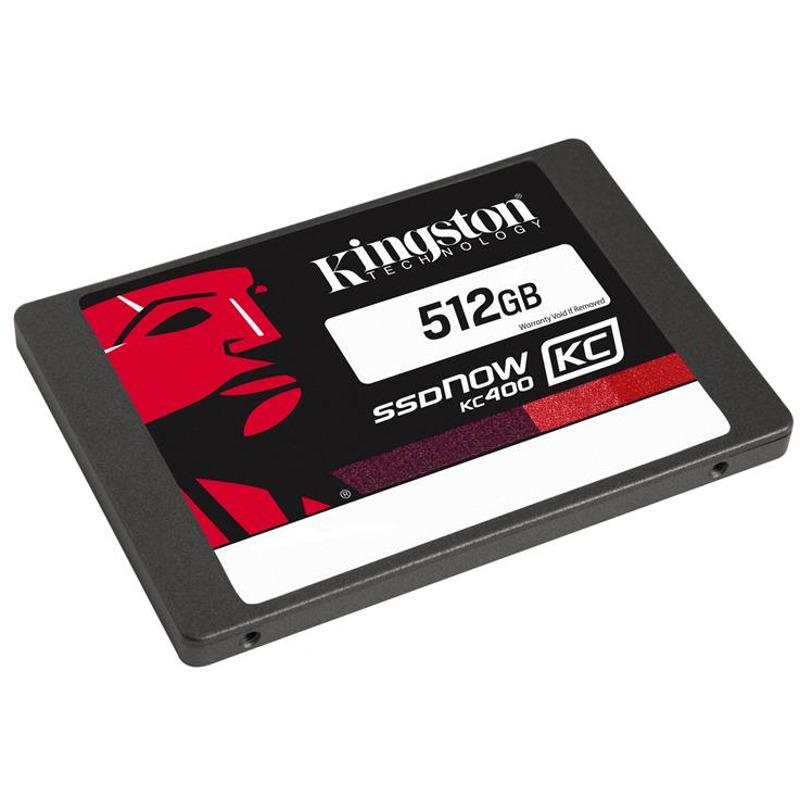 Hard Disk SSD Kingston SSDNow KC400 512GB 2.5 viteza citire/scriere - 550/530-MB/s