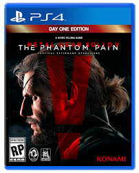 Metal Gear Solid V: The Phantom Pain D1 Edition PS4