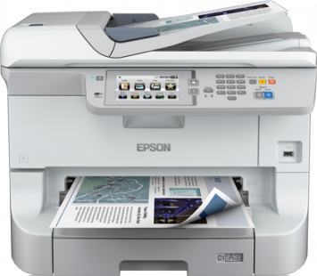 Multifunctional Inkjet Epson WorkForce Pro WF-8590DWF