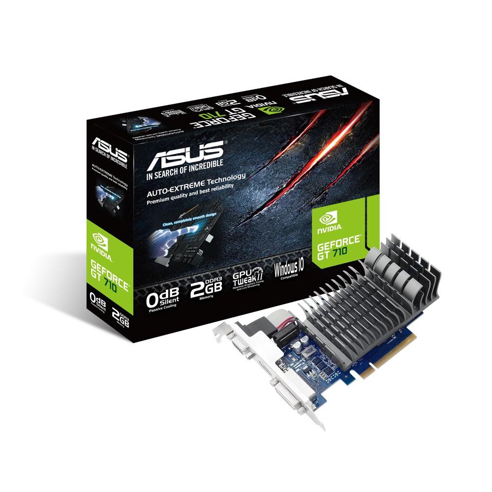 Placa Video ASUS NVIDIA GeForce GT 710 2GB DDR3 64 biti