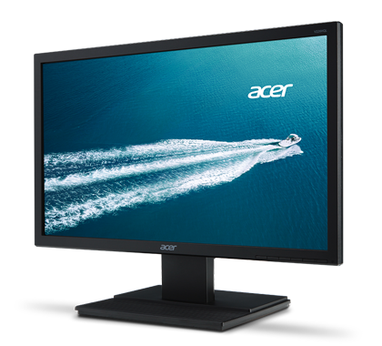 Monitor LED Acer V226HQLBID 21.5 Full HD HDMI DVI VGA Negru