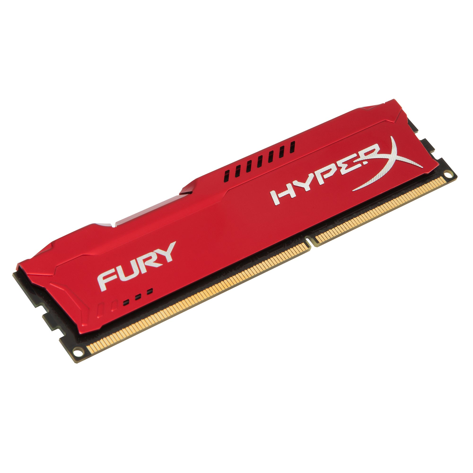 Memorie Desktop Kingston HyperX Fury Red 4GB DDR3 1333 MHz