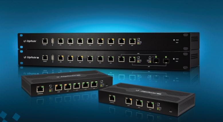 Router Ubiquiti ER-8 WAN: 8xGigabit fara WiFi
