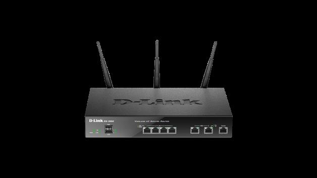 Router D-Link DSR-1000AC WAN: 2xGigabit WiFi: 802.11ac-1300Mbps