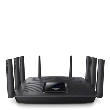 Router Linksys EA9500 WAN: 1xGigabit WiFi: 802.11ac-5300Mbps
