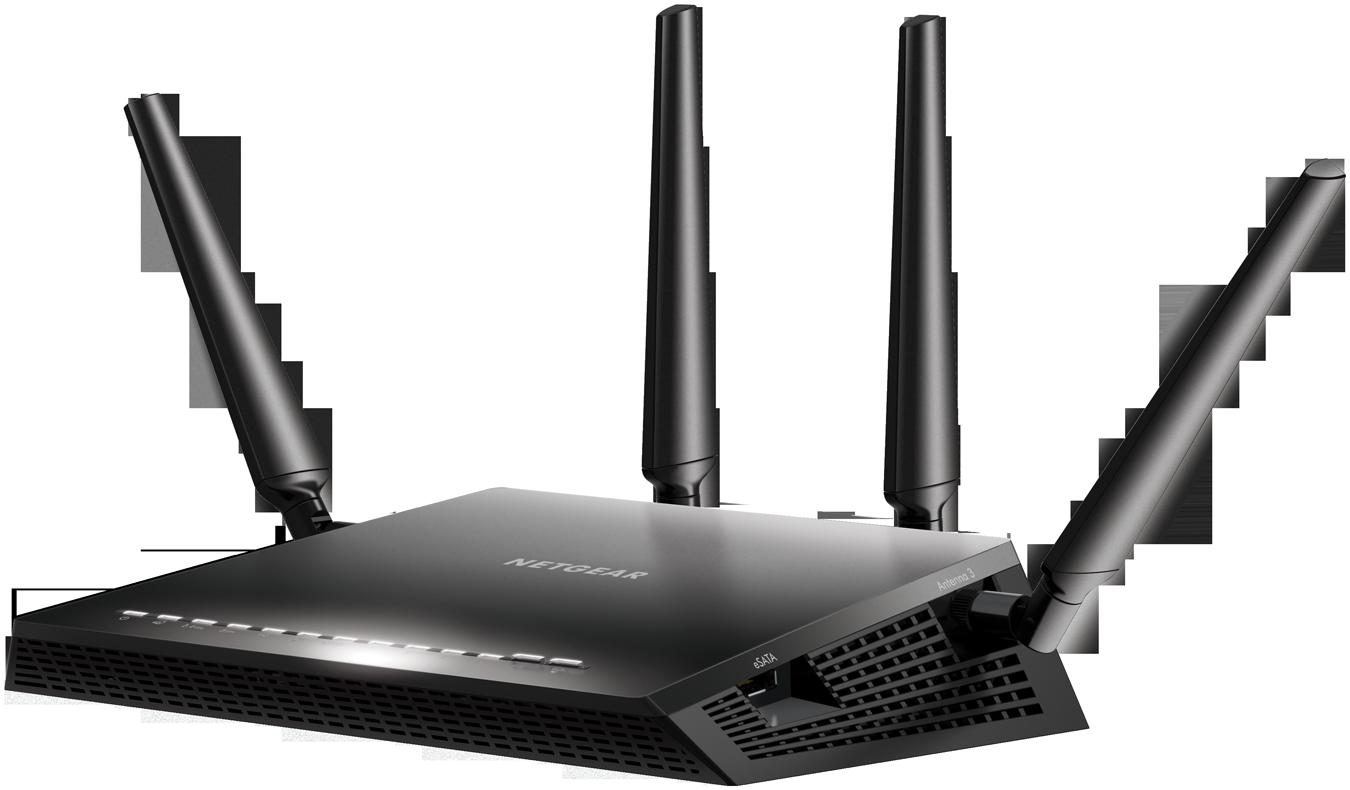 Router Netgear R7800 WAN: 1xGigabit WiFi: 802.11ac-2530Mbps