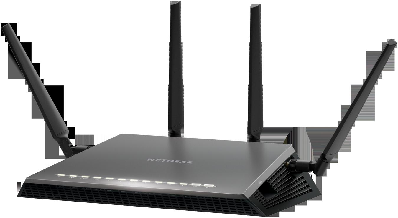 Router Netgear D7800 WAN: 1xGigabit + 1xADSL WiFi: 802.11ac-2600Mbps