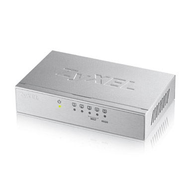 Switch ZyXEL GS-105BV3 fara management fara PoE 5x1000Mbps-RJ45