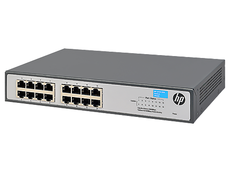 Switch HP HP 1420-16G fara management fara PoE 16x1000Mbps-RJ45
