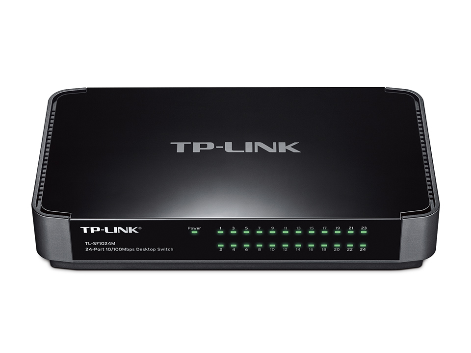 Switch Tp-Link TL-SF1024M fara management fara PoE 24x100Mbps-RJ45