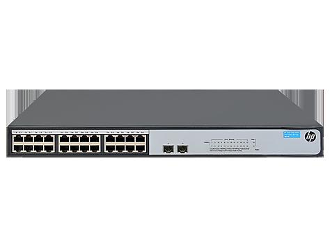Switch HP HP 1420-24G-2SFP+ 10G fara management fara PoE 24x1000Mbps-RJ45 + 2xSFP-10GbE