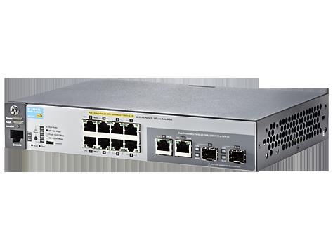 Switch HP ARUBA 2530 8G POE+ cu management cu PoE 8x1000Mbps-RJ45 (PoE+) + 2x1000Mbps-RJ45 (sau 2xSFP)
