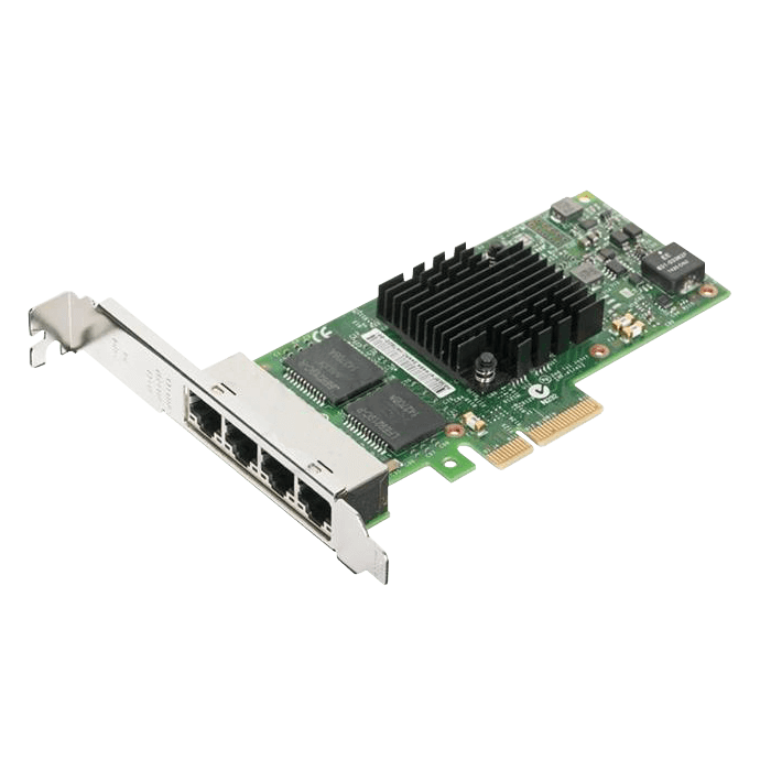 Placa de retea Intel I350-T4V2 interfata calaculator: PCI rata de tranfer pe retea: 1000Mbps
