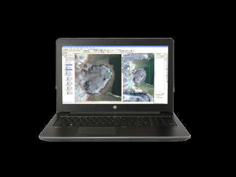 Notebook HP ZBook 15 G3 15.6 Full HD Intel Core i7-6700HQ Quadro M1000M-2GB RAM 8GB SSD 256GB Windows 7 Pro / 10 Pro Negru