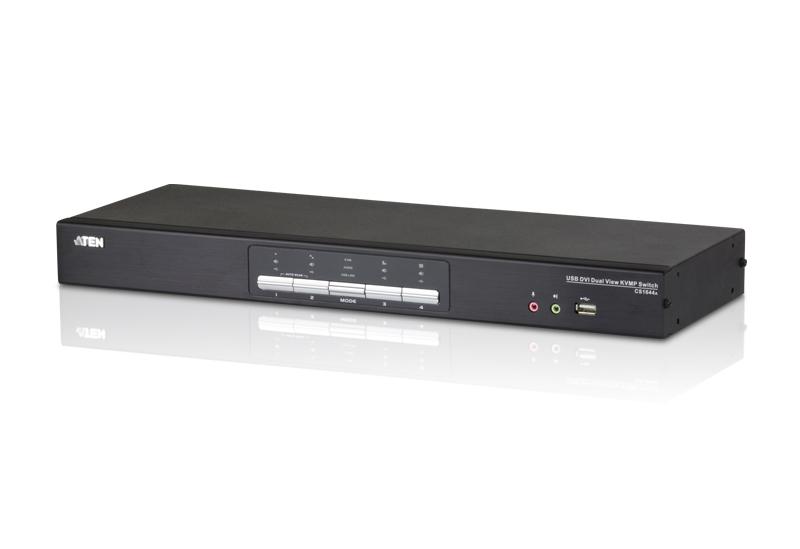 Switch KVM Aten CS1644A nr de calculatoare conectate: 4 rezolutie: 2560x1600