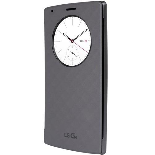 Husa Quick Circle pentru LG G4 S Stylus Negru